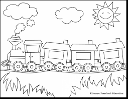 surprising train coloring pages with pre k coloring pages