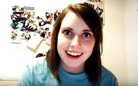 Attached Girlfriend Meme - overly attached girlfriend meet the woman behind the meme