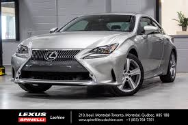 lexus rc 300 manual used 2016 lexus rc 300 awd cuir toit camera for sale in montreal