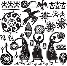 Mexican Flag Stencil Primitive Art Google Search Charts And Symbols Pinterest