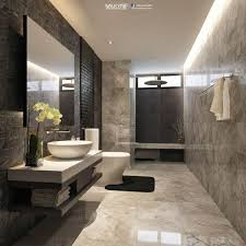 bathroom design modern bathroom exle of a minimalist gray tile bathroom design
