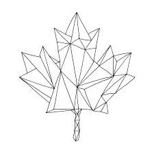 canadian maple leaf colouring donald lee canadian maple