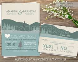 mountain wedding invitations mountain wedding invitations rustic outdoor wedding log