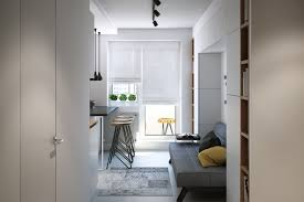 1 Room Apartment Design Small Apartment Design For A Just3ds