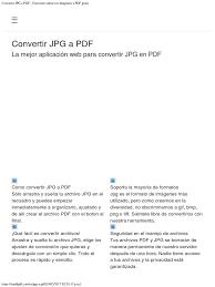 convertir imagenes jpg a pdf gratis convertir jpg a pdf convierte online tus imágenes a pdf gratis