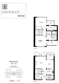view condos for sale and floorplans in the marquee park place