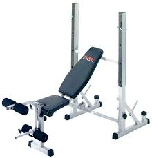 Nautilus Bench York B540 Heavy Duty 2 In 1 Bench Squat Stand Heavy Marcy Weight