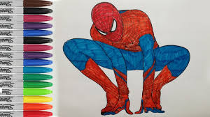 amazing spiderman coloring pages spiderman fun pages sailany