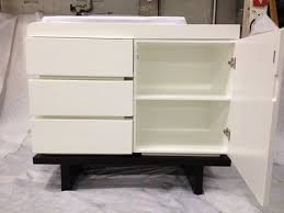 Nurseryworks Changing Table Gently Used Nursery Works Two Wide Changer Dressers Changing