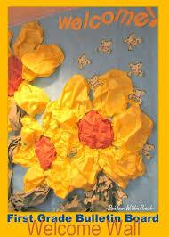 bulletin board flower bulletin board school bulletin