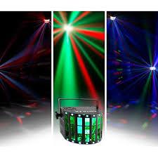 american dj led lights chauvet dj kinta fx derby party light effect with laser led strobe