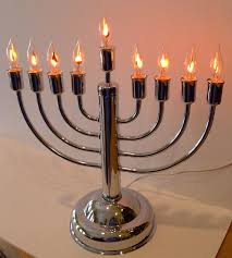 menorah candle electric hanukkah chanukah menorah candle l decoration