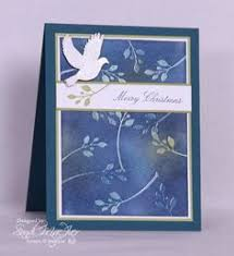 peace on earth card papercrafting peace
