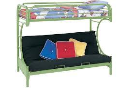 White Metal Futon Bunk Bed Futon Bunk Bed Green Boomerang Metal Bunk The Futon Shop