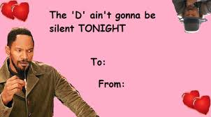 Valentine Card Meme - 25 funny celebrity valentine s day cards smosh