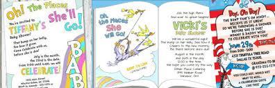 dr seuss baby shower invitations dr seuss baby shower 9 theme ideas decorations pictures