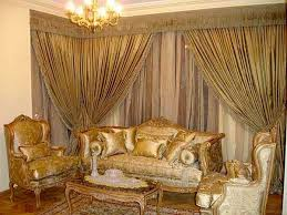 subdued dining room luxurious modern living curtain design 15