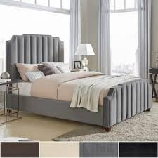 Velvet Sleigh Bed Velvet Beds Shop The Best Deals For Dec 2017 Overstock Com