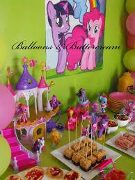 my pony balloons balloons buttercream my pony party