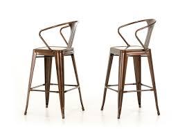 kitchen vintage toledo bar chair wooden seat bar stools