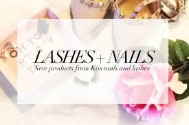 lashes nails new products from kiss a pop of colour