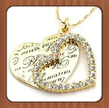 Couple Name Necklace Dubai Gold Plated Engraved Name Couple Heart Necklace Buy Dubai