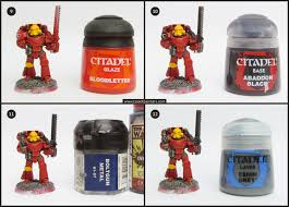 tutorial how to paint blood angels tale of painters