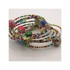 bead wire bracelet images Wire wrap maasai paper bead bracelet jpg