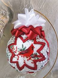contact us quilted fabric quilted ornament no sew ornament