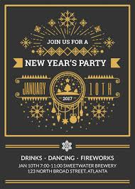 new year invitation make your own new year invitations online fotojet