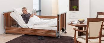 homecare bed electric ultra low height adjustable domiflex
