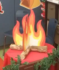 Flame Decorations How To Make A Fake Fire Google Search Parade Ideas Pinterest