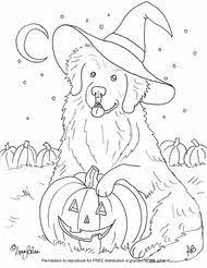 coloring pages fancy halloween dog coloring free sheets