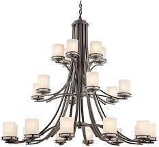 kichler tiffany lighting kichler 1884oz hendrik olde bronze chandelier lighting kic 1884oz