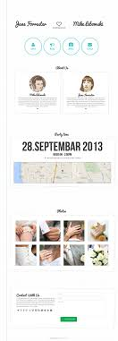 wedding invitation websites minimal wedding invitation template website templates creative