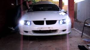 switchback led globes in vx commodore youtube