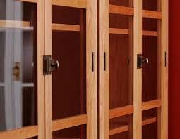 Cherry Bookcases With Glass Doors Freestanding Cherry Bookcases Hawk Ridge Furniture Paul Donio Vt