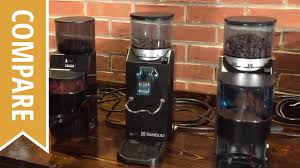 Coffee Grinders Reviews Ratings Compare Gaggia Mdf And Rancilio Rocky Coffee Grinders Youtube