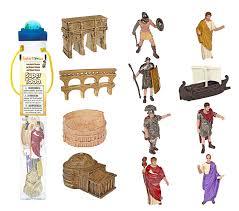amazon com safari ltd supertoob ancient rome toys u0026 games