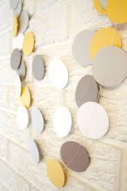Decor Baby by Wedding Decoration Paper Circle Confetti Garland Birthday