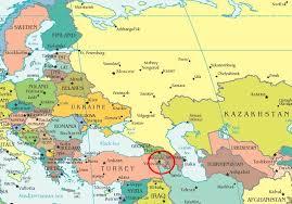 armenia on world map where is armenia on the world map