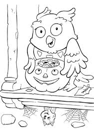 scarecrow printable halloween coloring pages hallowen coloring