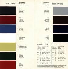 Porsche 911 Interior Color Codes Porsche356colors