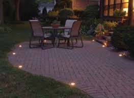 Patio Paver Lights Landscapeonline New News Everyday When It Breaks
