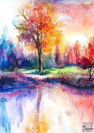 the 25 best watercolor landscape paintings ideas on pinterest