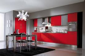 pictures of red kitchen cabinets 75 plus 25 contemporary kitchen design ideas red kitchen cabinets