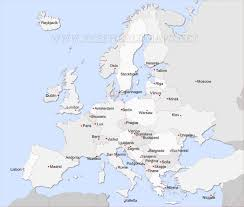 European Countries Map Quiz by Map Of Capital Cities Of Europe Adriftskateshop