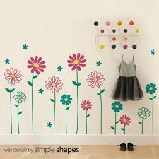 wall decor floral flower wall decal daisy wall sticker floral wall wall decor floral flower wall decal daisy wall sticker floral wall decor girls creative