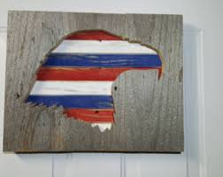 Red White And Blue Home Decor Red White Blue Decor Etsy