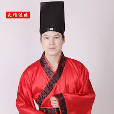 sky jiayuan costume han chinese clothing costume dress hat male